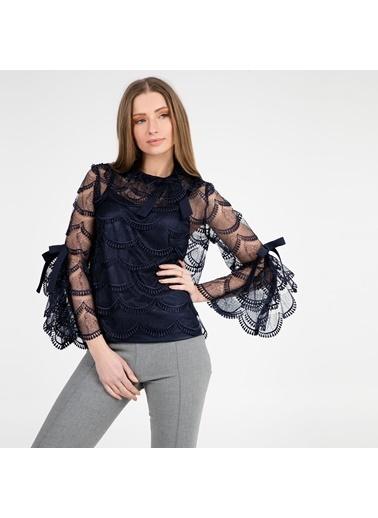 Trend Bluz Lacivert